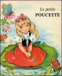 De qui est le conte  La petite Poucette  ?