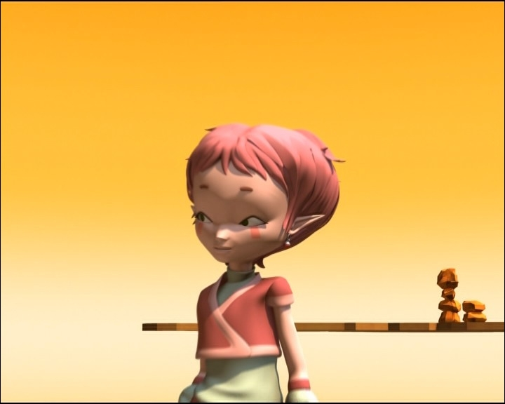 Comment se prénomme cette jeune fille ?