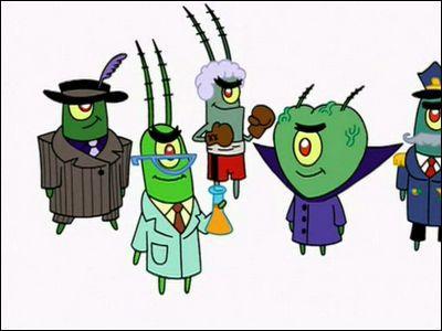Dans 'plankton et son armée', que commande le robot de Plankton?