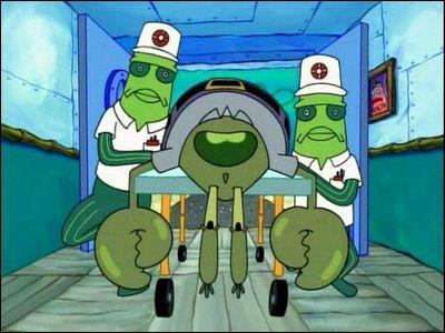 Dans 'l'incorrigible capitaine krabs', où Bob trouve le paté périmé?