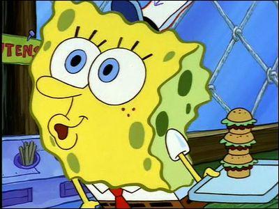 Dans 'poisson d'avril', que commande le client du crabe croustillant?