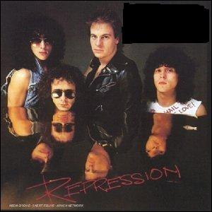 Quel groupe a sorti l'album studio  Repression  ?