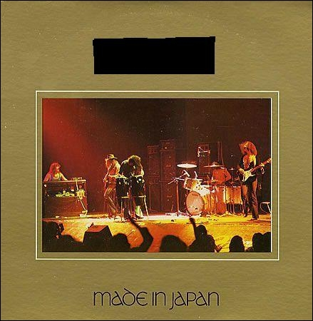 Quel groupe a sorti l'album live  Made In Japan  ?