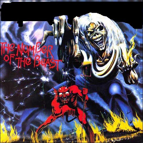 Quel groupe a sorti l'album studio  The Number Of The Beast  ?