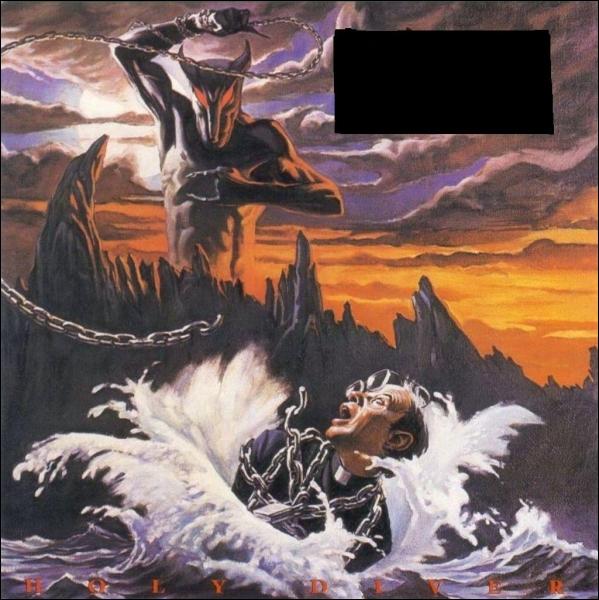 Quel groupe a sorti l'album studio  Holy Diver  ?