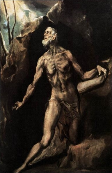 Ce St Jérome a-t-il été peint par El Greco ?