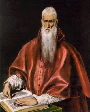 Encore un  St Jérome , est-ce El Greco qui l'a peint ?