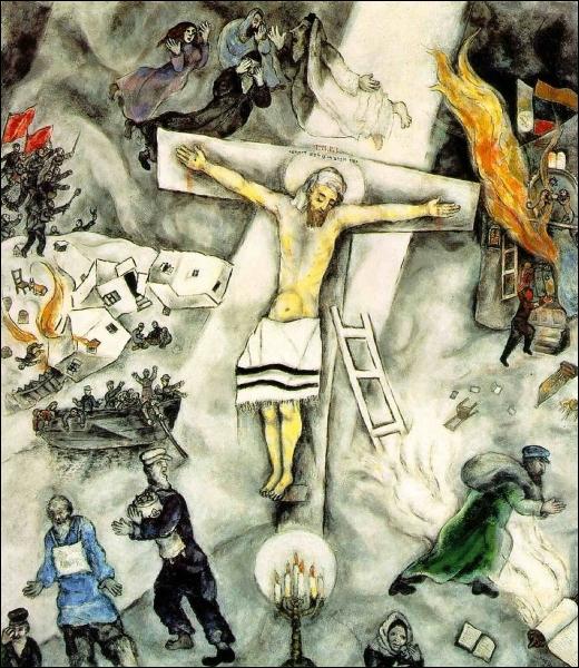 De qui est ce christ en croix ?
