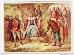 Saint Louis affermit la justice royale où le souverain apparaît comme « le justicier suprême».Selon l'imagerie populaire sous quel arbre rendait-il la justice ?