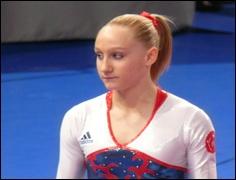 Quelle est cette gymnaste française ?