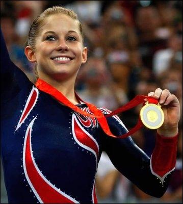 Quelle est cette gymnaste américaine ?