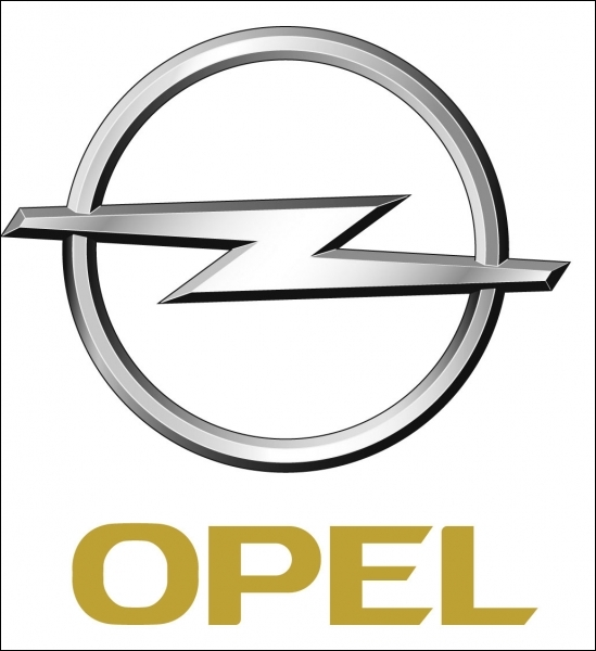 Le logo de la marque  Opel , redessiné en 1963, représente un éclair traversant un cercle ? Quel était le logo d'origine ?