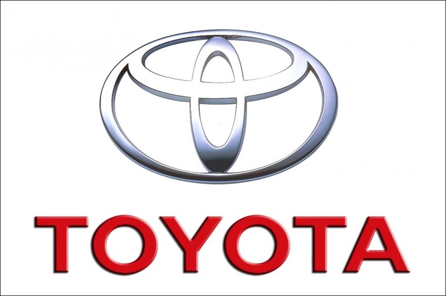 Quelle est l'origine du logo actuel (1990) de la marque  Toyota  ?