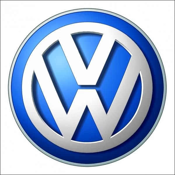 Quelle est l'origine du logo de la marque  Volswagen  ?