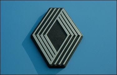Quelle est l'origine du logo de la marque  Renault , en forme de losange ?