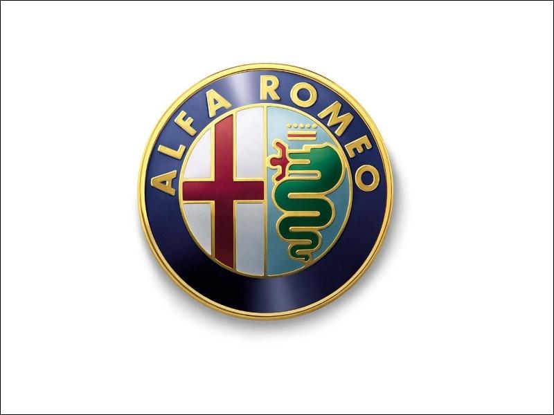Quelle est l'origine du logo de la marque  Alfa-Roméo  ?