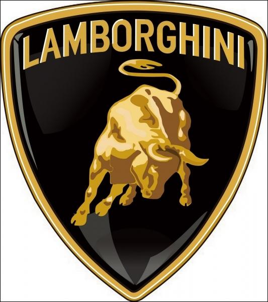 Quelle est l'origine du logo de la marque  Lamborghini  ?