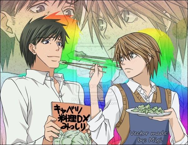 De quelle histoire font partie Shinobu et Miyagi ?
