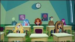 A quelle catégorie d'étudiantes est réservé le lycée de Monster High ?