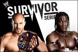 United States Championship, Antonio Cesaro VS R-Truth, qui gagne ?