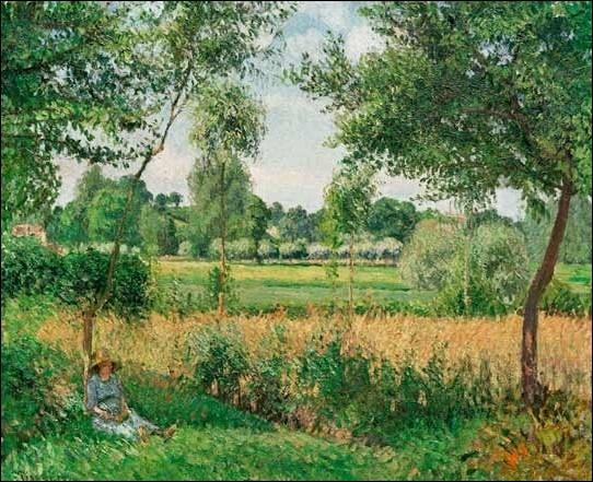Surnommé par ses amis artistes  Le peintre des peintres , ce  père  de l'impressionnisme meurt le 13 novembre 1903 à Paris... .