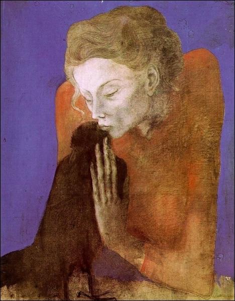 A 23 ans cet artiste après de courts séjours, emménage au  Bateau-lavoir  à Paris en mai 1904... .