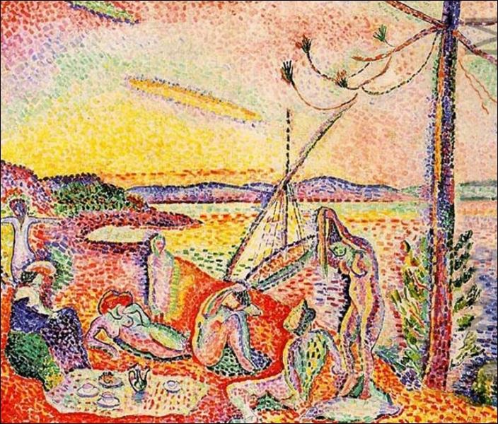 De quel poète Henri Matisse s'est-il inspiré, pour le titre de ce tableau peint en 1904   Luxe, calme et volupté...   ?