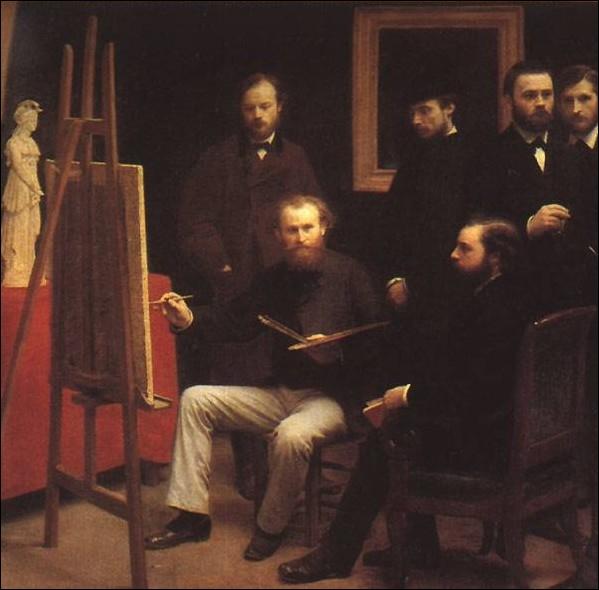 Ami de Manet et des impressionnistes dont-il fit le portrait de groupe, Fantin-Latour mort le 25 août 1904 se prénommait... .