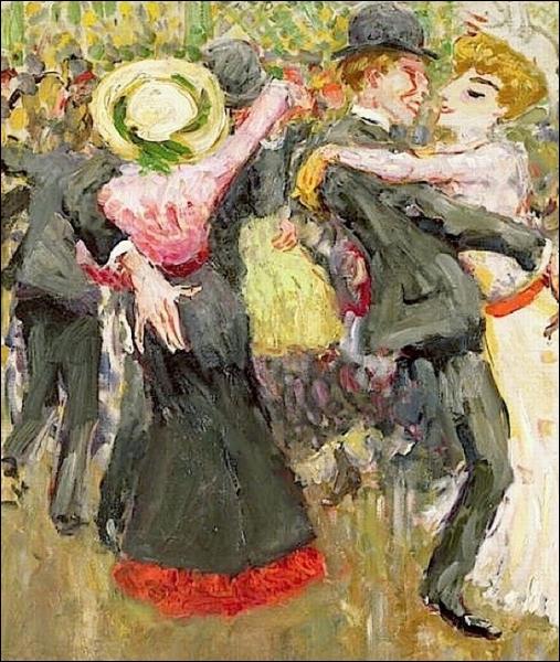 En novembre 1904, c'est également la première exposition parisienne de ce peintre d'inspiration anarchiste du groupe des fauvistes... .