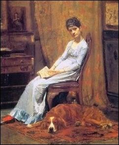 Ce peintre américain fut élève aux Beaux-Arts de Jean-Léon Gérôme, il est élu a 58 ans en 1902 à la National Academy of Design de New-York... .