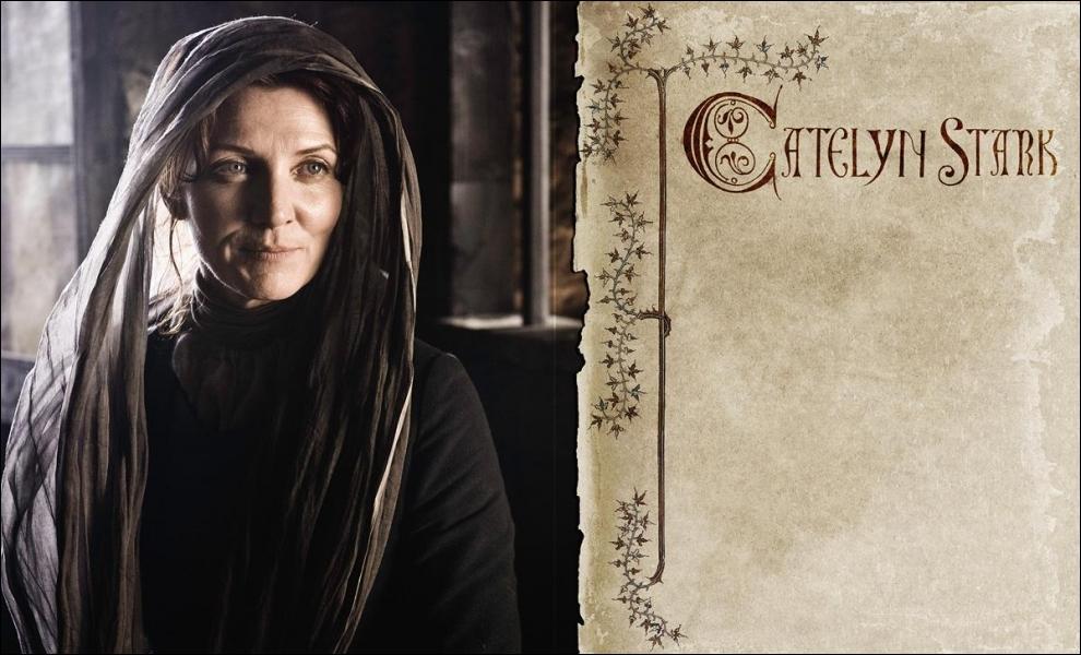 Catelyn Stark est née de la maison ...