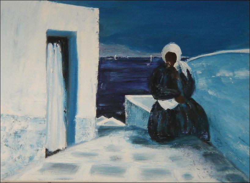 Une copie d'après André Bricka (1922-1999). Ce tableau est ...