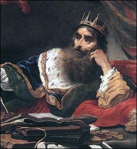Veni, vidi ! Mais il n'y aura pas de  vici  car il a perdu face à Cyrus II le Grand. Eh oui ! On ne gagne pas tout, même si on est riche comme :