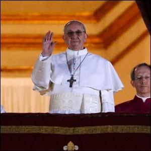 Veni, vici ! J'ai vu mais je ne suis pas venu voir le premier discours du 266ème pape, qui a vaincu sa peur pour parler face au public. Il s'appelle :