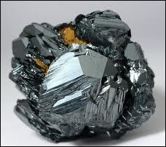 Pierre fine composée d'oxyde de fer noir métallique, c'est :