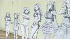 Qui est la sixième participante à passer pour l'élection Miss Fairy Tail ?