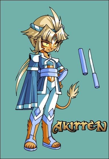 Ce personnage s'appelle Shun-Day. Sur cette image, elle est...