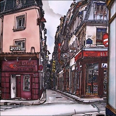 Qui est l'auteur de la chanson  Rue de Lappe , célèbre rue de la capitale où était installé le non moins célèbre   Balajo   ?
