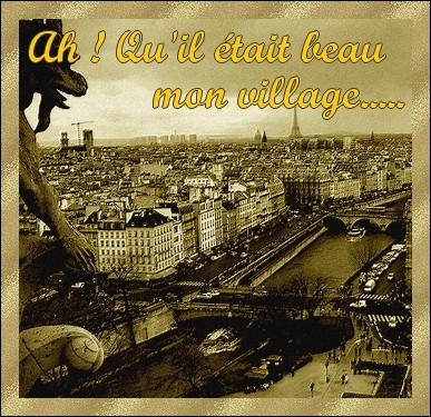 Ah ! Qu'il était beau mon village/ Mon Paris, notre Paris... .   Qui est le compositeur de cette chanson à la gloire de Paris et chantée par Alibert, Lina Margy, Maurice Chevalier etc... ?