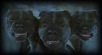 Comment amadouer Touffu, le chien à trois têtes qui garde l'entrée du couloir interdit ?