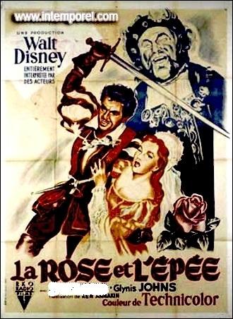 En 1953, qui tient le rôle principal dans La Rose et l'épée, film réalisé par Ken Annakin ?