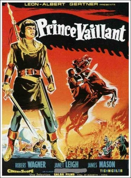 En 1954, qui réalise Prince Vaillant, avec Robert Wagner, James Mason et Janet Leigh ?