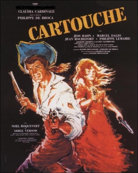 En 1962, qui est Cartouche dans ce film de Philippe de Broca avec également Claudia Cardinale et Jean Rochefort au casting ?