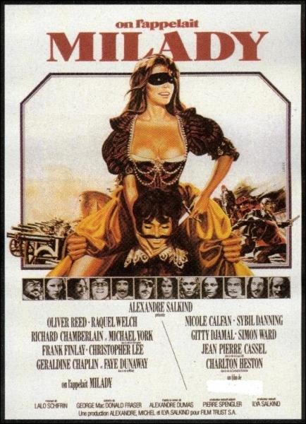 En 1974, qui réalise On l'appelait Milady avec Michael York, Oliver Reed, Charlton Heston et Raquel Welch ?