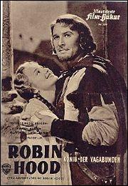 En 1938, qui est Robin des bois, dans cette version de Michael Curtiz et William Keighley, toujours considérée aujourd'hui comme la meilleure de toutes les adaptations de Robin des bois au cinéma ?