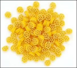 Sophia Loren a écrit un best-seller sur l'art de cuisiner les pâtes, tout comme Macha Méril. Ces pâtes sur la photo sont des rotelle, c'est à dire ?