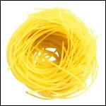 Ce  nid  est composé de cappelini, variété de pâtes qui signifie ?