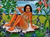 Chéri Samba est un artiste contemporain et un peintre de la République démocratique du Congo utilisant une large palette de tons orangés. Où se trouve la RDC ? .