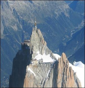 Quel sommet des Alpes françaises culmine à moins de 4000m ?