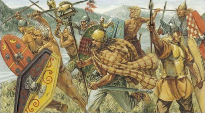 [Histoire] Quelle ancienne tribu gauloise occupait l'actuelle Auvergne ? (une seule réponse vraie)